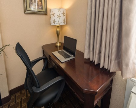 King Suite Work Desk Area